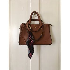LONDON FOG SOPHIA TRIPLE SATCHEL